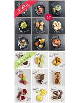 coffret 9 mini-livres de hachette cuisine