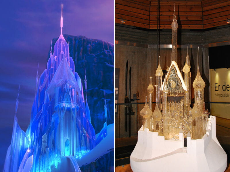 Le palais des glaces plongez dans l 39 ambiance de la reine - Palais de glace reine des neiges ...