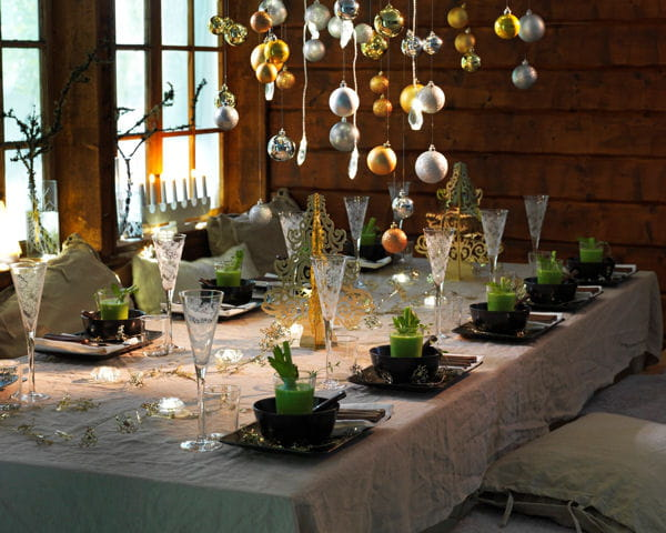 fl tes champagne sn fint d 39 ikea 20 tables de f te aux d cors enchanteurs journal des femmes. Black Bedroom Furniture Sets. Home Design Ideas