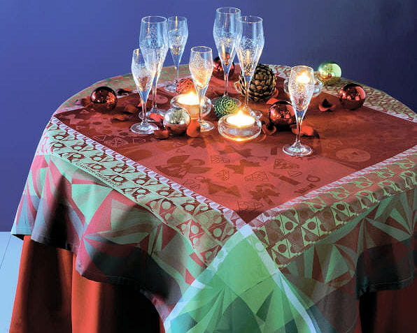 nappe christmas light de garnier thiebaut 20 tables de. Black Bedroom Furniture Sets. Home Design Ideas