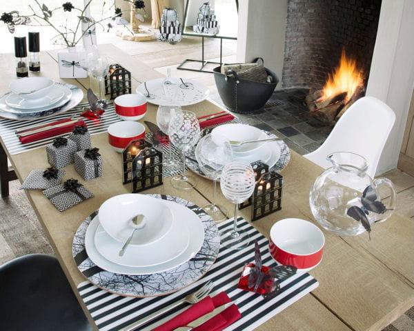 Asssiettes et bols ambiance et styles 20 tables de f te aux d cors enchante - Liste de mariage ambiance et style ...