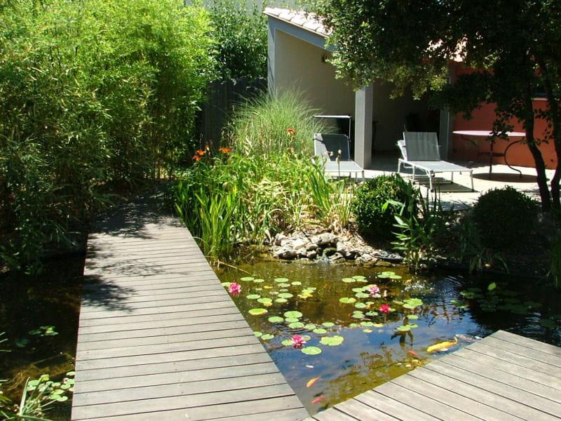 Un jardin japonais quatre ans après sa réalisation ...
