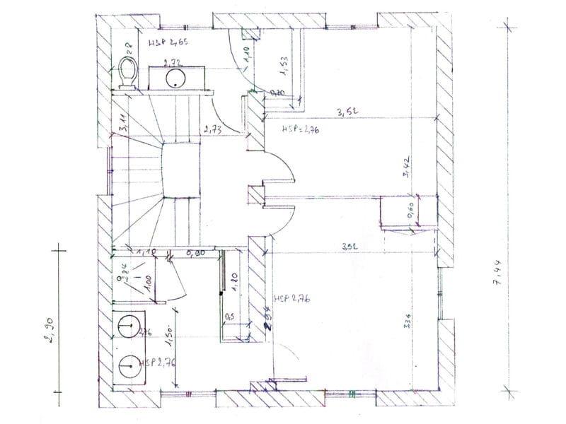 Plan du premier tage une vraie maison de famille - Plan maison fonctionnelle ...