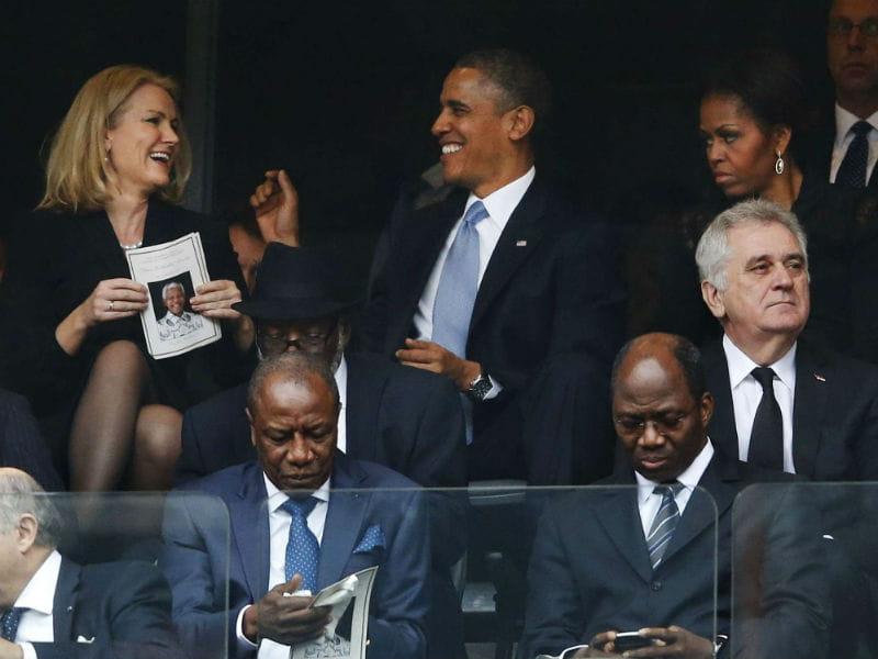 Barack Obama couple