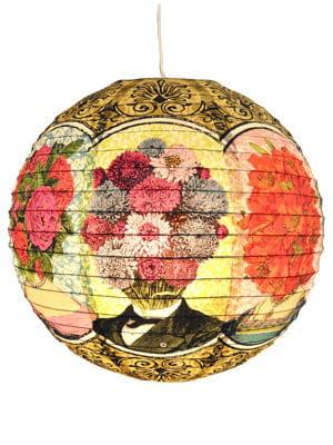 Boule japonaise fleurie de pep up design - Boules japonaises originales ...