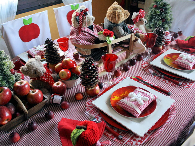 Table de no l traditionnelle - Table de noel traditionnelle ...
