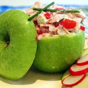 Pomme granny farcie au thon 35 recettes pour cuisiner du - Cuisiner du thon en boite ...