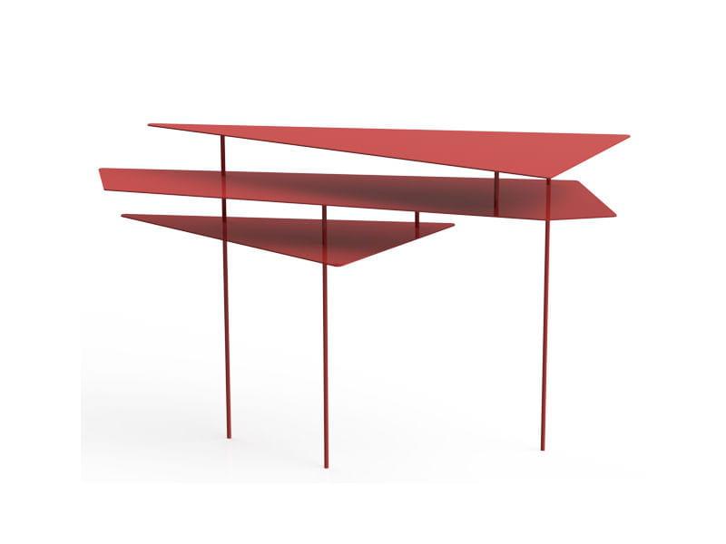 console rouge de h creation la d co sur le fil journal des femmes. Black Bedroom Furniture Sets. Home Design Ideas