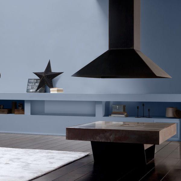 peinture ispahan de guittet du sol aux murs une cuisine comme neuve journal des femmes. Black Bedroom Furniture Sets. Home Design Ideas