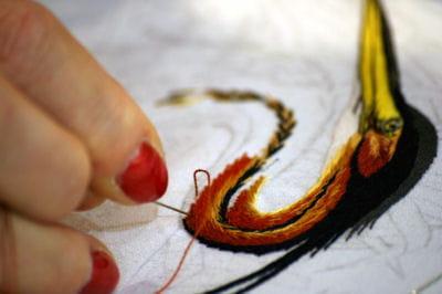 Salon l 39 aiguille en f te la passion du fil journal des fe - Salon fil en aiguille ...