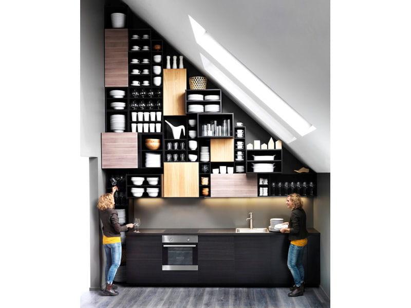 Chaise Cuisine Smith : Des rangements jusquau plafond  Cuisine  la nouvelle Metod dIKEA