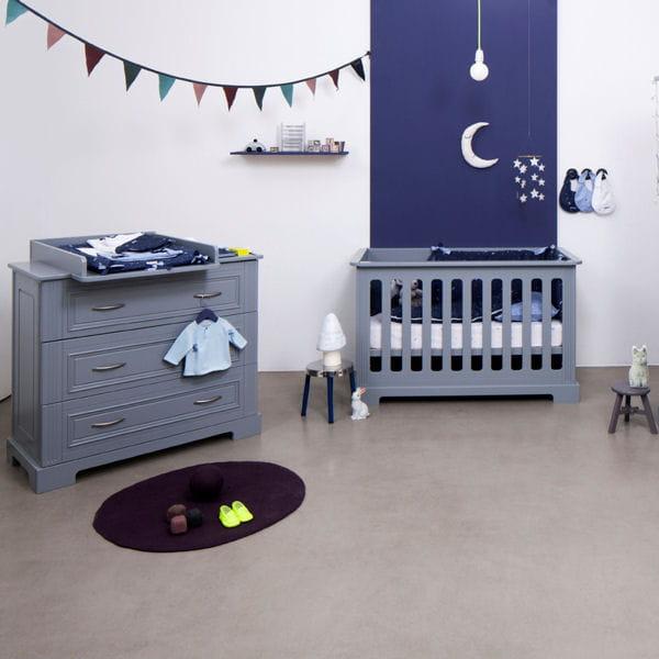 nuit paisible id es d co pour chambre de b b styl e. Black Bedroom Furniture Sets. Home Design Ideas