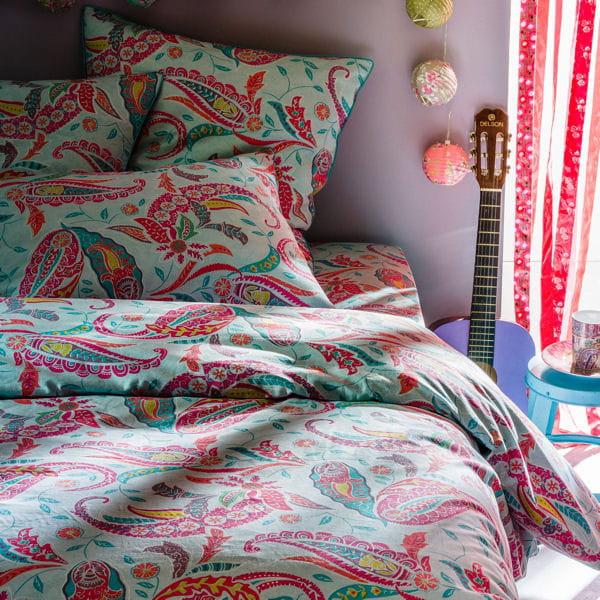 parure boh me de la redoute. Black Bedroom Furniture Sets. Home Design Ideas
