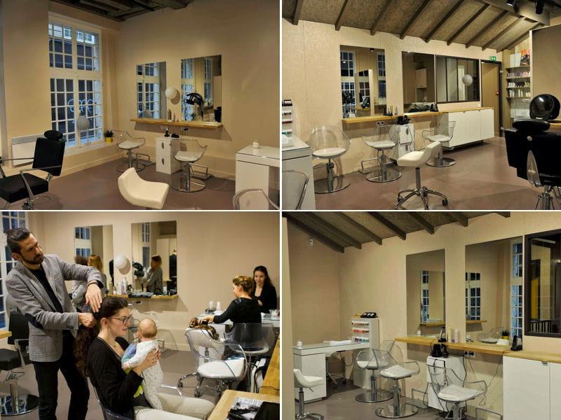 Le salon de coiffure bienvenue chez happy families 1er for Salon de coiffure original