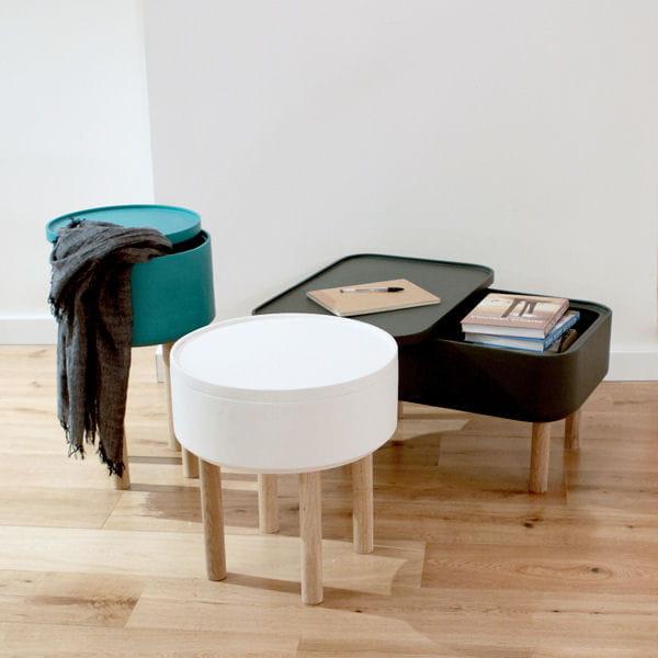 Table coffre petit espace y 39 a de l 39 astuce dans ces - Table petit espace ...