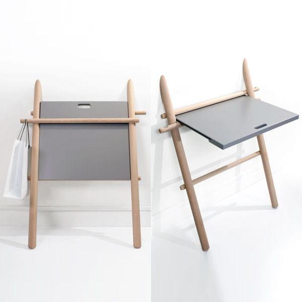 bureau rabattable petit espace y 39 a de l 39 astuce dans ces meubles journal des femmes. Black Bedroom Furniture Sets. Home Design Ideas