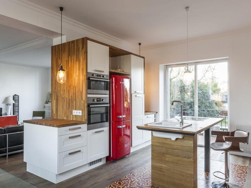 Apr s une cuisine contemporaine une extension avec - Cuisine facon atelier ...