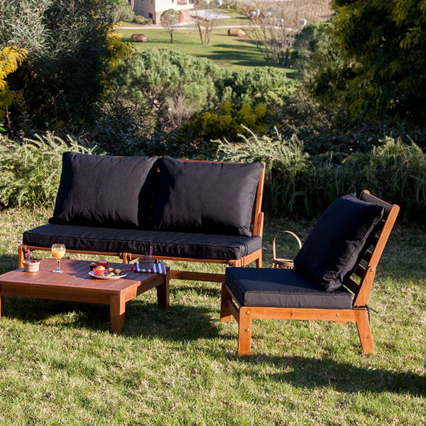 salon de jardin noir de greenpath 21 nuances de salons de jardin journal des femmes. Black Bedroom Furniture Sets. Home Design Ideas