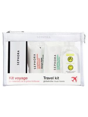 mini produits pour voyager l ger le kit de voyage de sephora journal des femmes. Black Bedroom Furniture Sets. Home Design Ideas