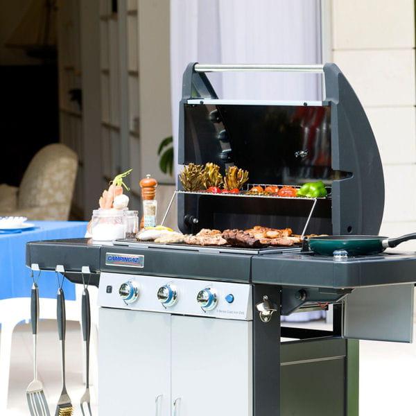 Pour les familles nombreuses barbecues planchas et for Cuisine famille nombreuse