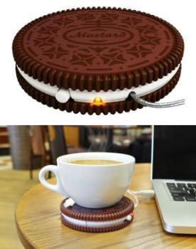 chauffe-tasse 'hot cookie'