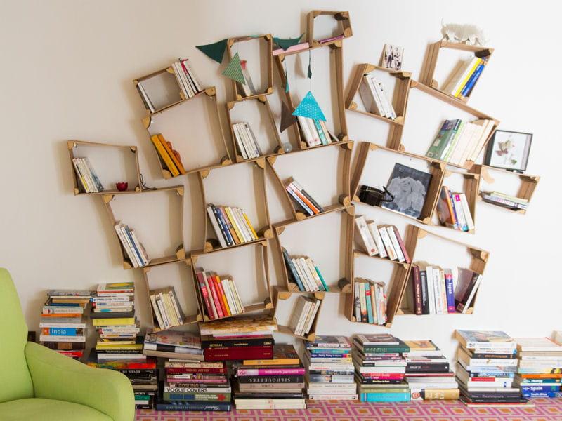 des id es pour ranger mes livres journal des femmes. Black Bedroom Furniture Sets. Home Design Ideas