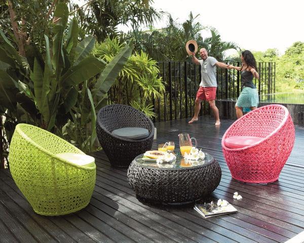 salon de jardin en rondeurs le mobilier de jardin. Black Bedroom Furniture Sets. Home Design Ideas