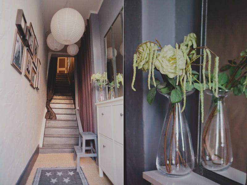 Entr e en escalier un trois pi ces cosy en tages - Entree de maison avec escalier ...