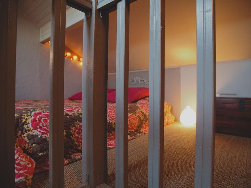 chambre sous les toits. Black Bedroom Furniture Sets. Home Design Ideas