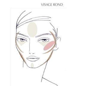 le contouring pour un visage rond par patrick lorentz, senior make-up artist
