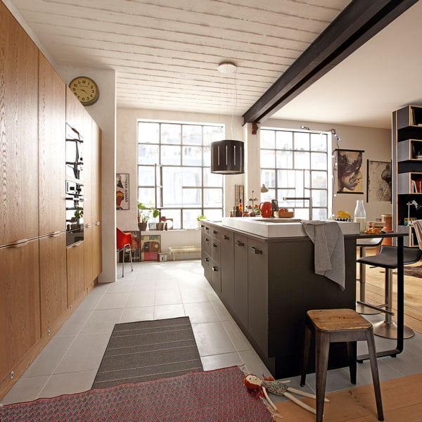 noir mat et profond cuisine le retour du mat journal des femmes. Black Bedroom Furniture Sets. Home Design Ideas