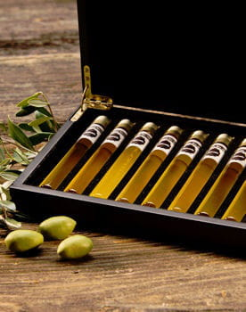 coffret huile d'olive et vinaigre de tasting collection