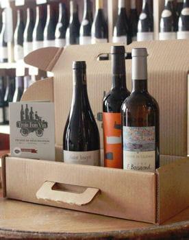 box de vin de trois fois vin
