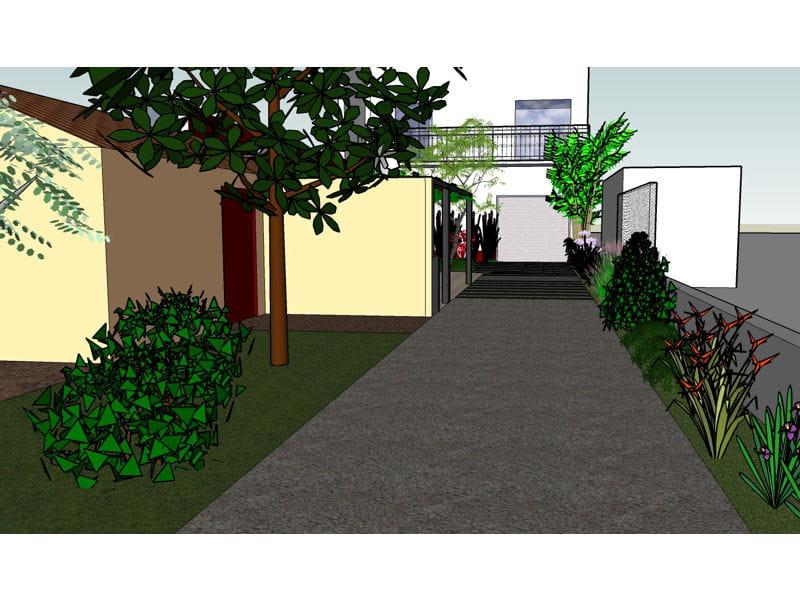 Un petit espace jardin conserv une terrasse ombrag e - Deco jardin journal des femmes toulouse ...