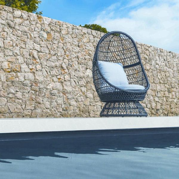 fauteuil effet rotin castorama du mobilier pour chiller au bord de la piscine journal des femmes. Black Bedroom Furniture Sets. Home Design Ideas