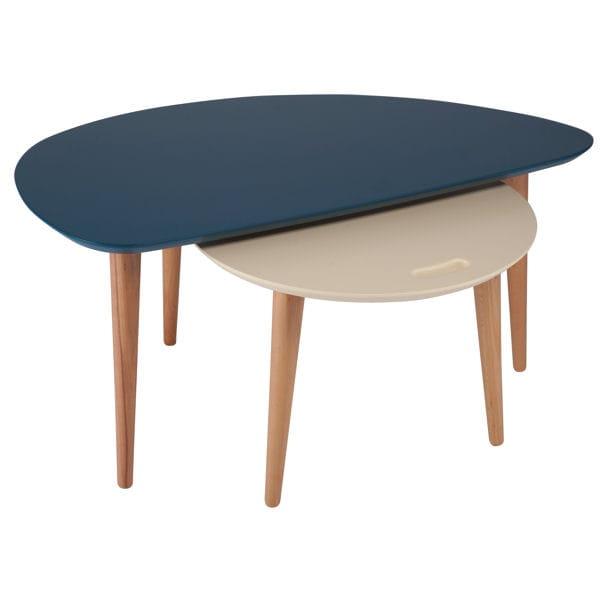 Une table basse contemporaine soldes d co les bonnes for Deco pour table basse