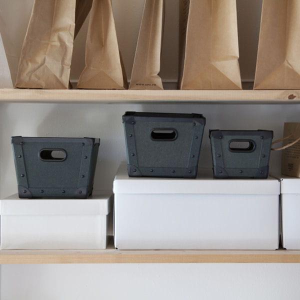 boites rangement au style industriel soldes d co les bonnes affaires rep r es pour vous. Black Bedroom Furniture Sets. Home Design Ideas