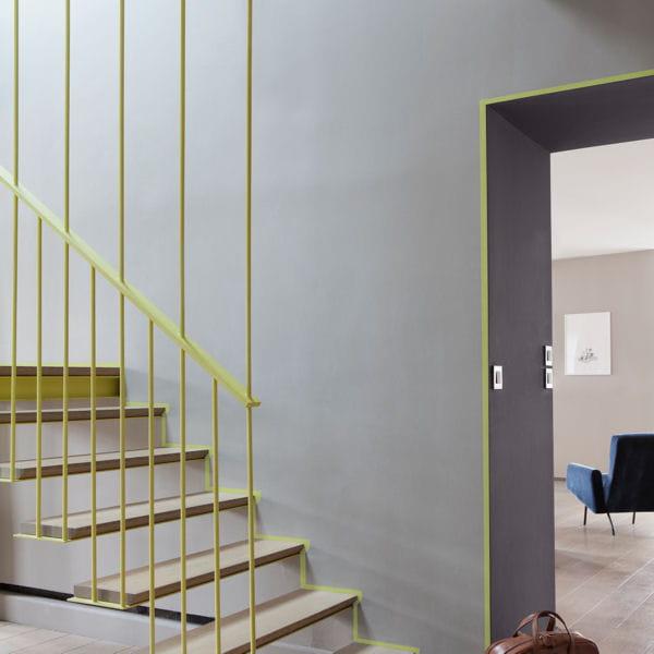 une peinture couvrante la texture velout e peintures on mise sur des teintes pastel. Black Bedroom Furniture Sets. Home Design Ideas
