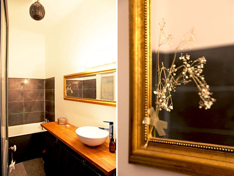 Sobri t et style dans la salle de bains un appart 39 pour for Musique dans la salle de bain