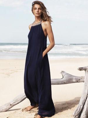 la mode des robes de france robe longue ete bleu. Black Bedroom Furniture Sets. Home Design Ideas