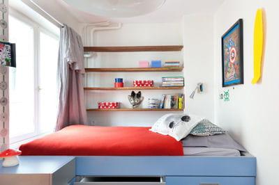 chambre d 39 enfant comment am nager un lit mezzanine journal des femmes. Black Bedroom Furniture Sets. Home Design Ideas