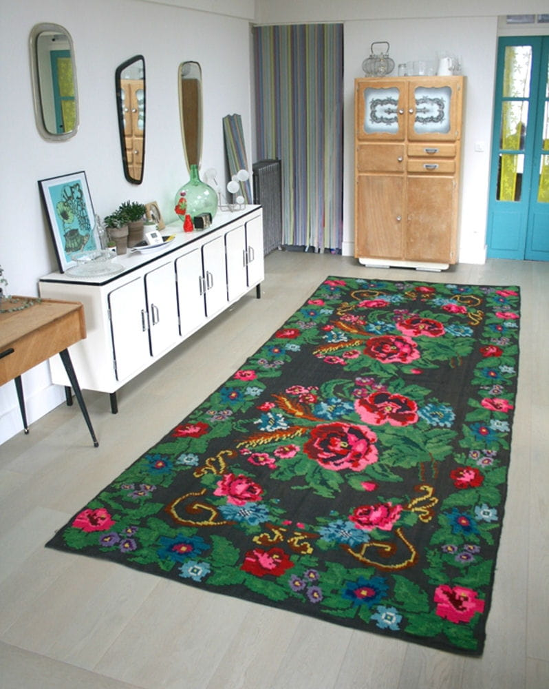 carrelage design tapis kilim pas cher moderne design pour carrelage de so. Black Bedroom Furniture Sets. Home Design Ideas