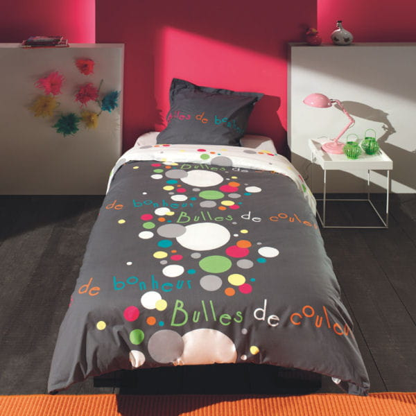 bulles pop la chambre d 39 enfant dans de beaux draps journal des femmes. Black Bedroom Furniture Sets. Home Design Ideas