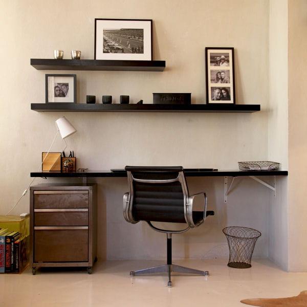 jouer avec un d croch du mur am nager un coin bureau dans un petit espace journal des femmes. Black Bedroom Furniture Sets. Home Design Ideas