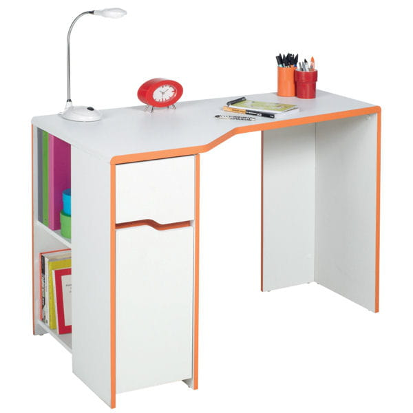 un grand bureau pour tout ranger chambre d 39 enfant des bureaux qui donnent le go t des. Black Bedroom Furniture Sets. Home Design Ideas