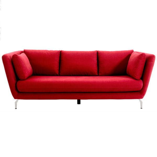 alc ve 10 canap s rouges qui nous font de l 39 oeil journal des femmes. Black Bedroom Furniture Sets. Home Design Ideas