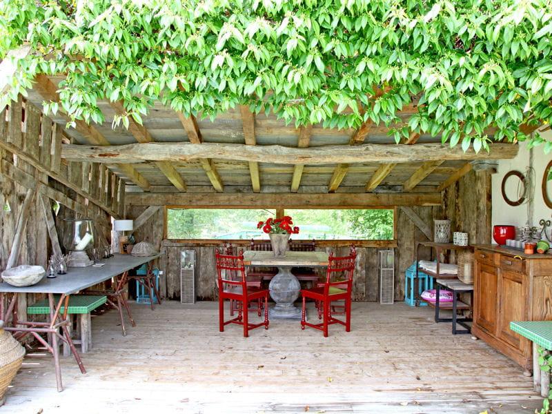 La cabane au fond du jardin la vigne vierge l 39 assaut for Cabane au fond du jardin