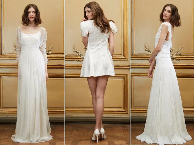 Delphine Manivet : toute sa collection de robes de mariée 2015