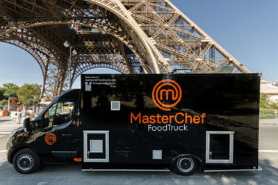masterchef le foodtruck d bute sa tourn e journal des femmes. Black Bedroom Furniture Sets. Home Design Ideas