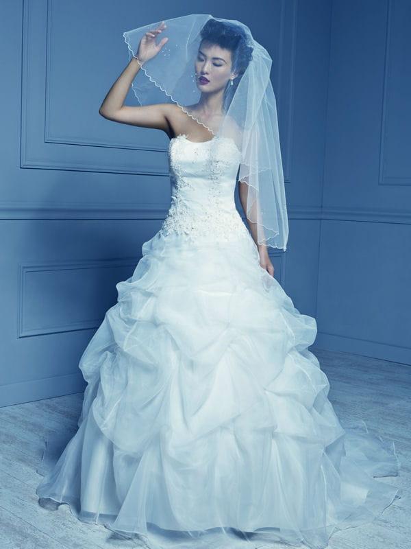 Robe rembl me princesse moderne tati mariage toute la for Boite a couture tati
